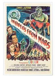 Premiumposter  Invaders from Mars