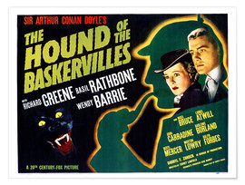 Premiumposter The Hound of the Baskervilles