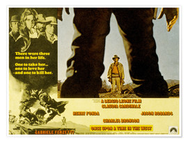 Premiumposter Once Upon a Time in the West