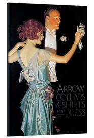 Aluminiumtavla  Arrow Collars - Joseph Christian Leyendecker