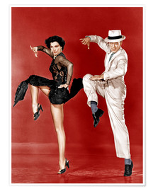Premiumposter THE BAND WAGON, from left: Cyd Charisse, Fred Astaire, 1953