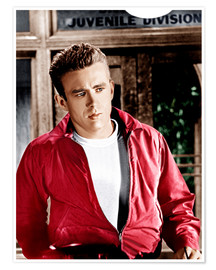 Premiumposter REBEL WITHOUT A CAUSE, James Dean, 1955