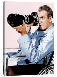 Canvastavla  REAR WINDOW, James Stewart, 1954