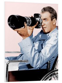 PVC-tavla  REAR WINDOW, James Stewart, 1954