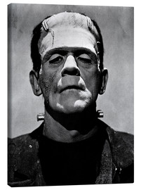 Canvastavla  Boris Karloff as Frankenstein