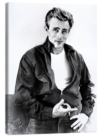 Canvastavla  James Dean