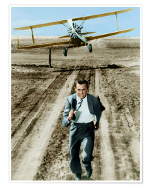 Premiumposter  Cary Grant in North by Northwest