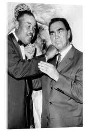 Akrylglastavla  Max Schmeling and Joe Louis