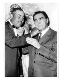 Premiumposter  Max Schmeling and Joe Louis