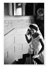 Premiumposter  Jackie Kennedy at her wedding