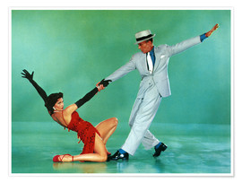 Premiumposter THE BAND WAGON, Cyd Charisse, Fred Astaire, 1953