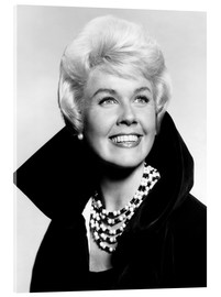 Akrylglastavla  Doris Day, early 1960s