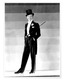 Premiumposter Fred Astaire, 1930