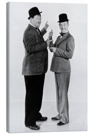 Canvastavla  Oliver Hardy and Stan Laurel