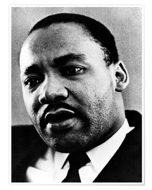 Premiumposter Dr. Martin Luther King Jr. (1929-1968), African American civil rights leader, c. 1960's..