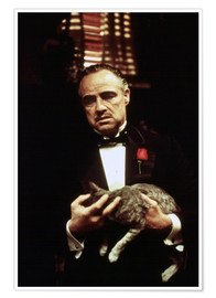 Premiumposter  The Godfather, Marlon Brando
