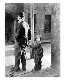 Premiumposter  The Kid, Charlie Chaplin, Jackie Coogan, 1921