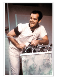 Premiumposter Jack Nicholson in One Flew Over the Cuckoo's Nest