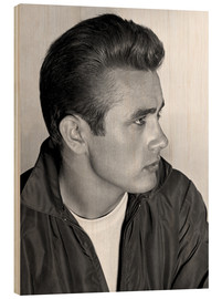 Trätavla  James Dean