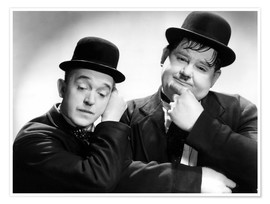 Premiumposter Stan Laurel and Oliver Hardy