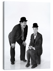 Canvastavla  Laurel and Hardy