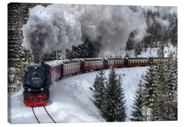 Canvastavla  Brocken Railway - Steffen Gierok