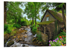PVC-tavla  Mill in the black forest - FineArt Panorama