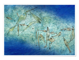 Premiumposter  Fish Image - Paul Klee