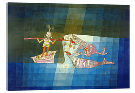 Akrylglastavla  Sinbad the Sailor - Paul Klee