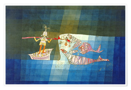 Premiumposter  Sinbad the Sailor - Paul Klee
