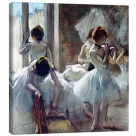 Canvastavla  Group of Dancers - Edgar Degas
