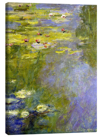 Canvastavla  lily pond - Claude Monet