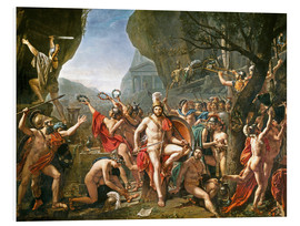 PVC-tavla  Leonidas on the Thermopylae - Jacques-Louis David