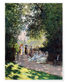 Premiumposter The Parc Monceau