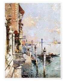 Premiumposter The Grand Canal, Venice