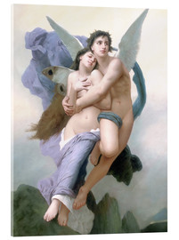 Akrylglastavla  Abduction of Psyche - William Adolphe Bouguereau