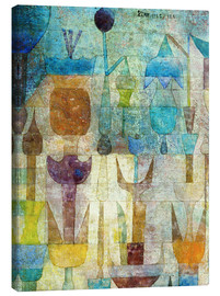 Canvastavla  Plants early in the morning - Paul Klee