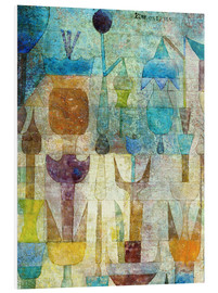 PVC-tavla  Plants early in the morning - Paul Klee