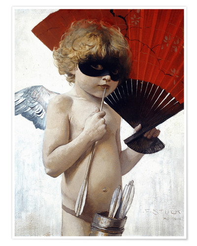 Premiumposter Cupid at the masked ball