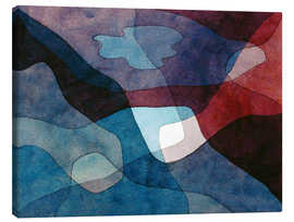 Canvastavla  Mountain and Air Synthetic - Paul Klee