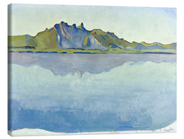 Canvastavla  Lake Thun with Stockhorn chain - Ferdinand Hodler