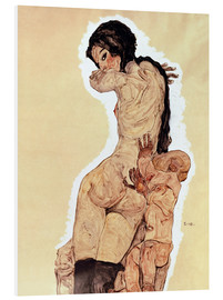 PVC-tavla  Mother and Child - Egon Schiele
