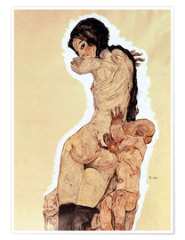 Premiumposter  Mother and Child - Egon Schiele