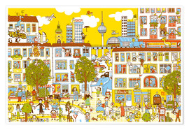 Poster  Berlin Search and Find by Judith Drews - Judith Drews