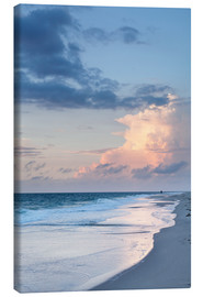 Canvastavla  Sylt, sunset at the beach - Markus Lange