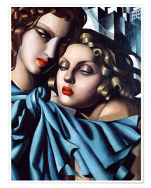 Premiumposter  The girls - Tamara de Lempicka