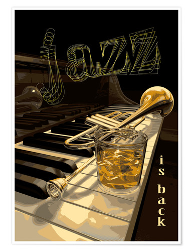 Premiumposter jazz is back