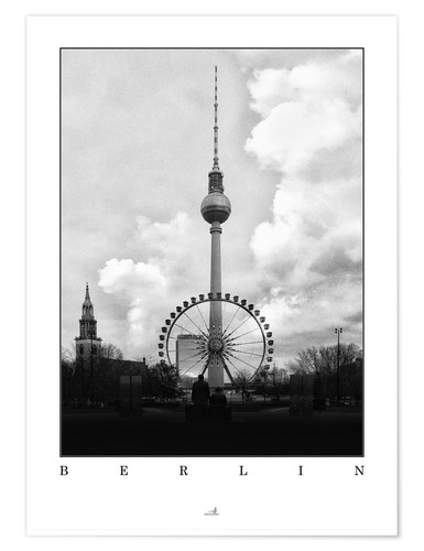 Premiumposter Berlin - Television Tower