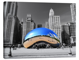 Canvastavla  Chicago Bean - HADYPHOTO