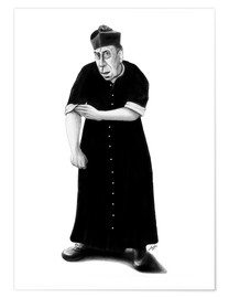 Premiumposter Don Camillo ready to rumble